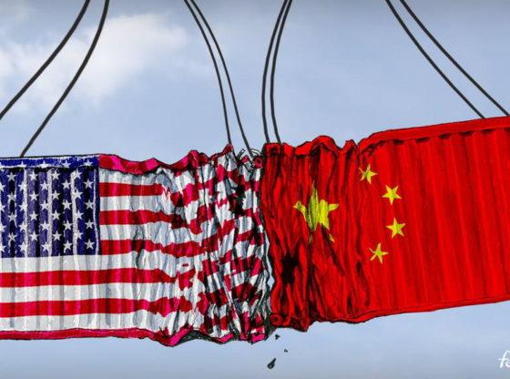 THE USA-CHINA CONFRONTATION