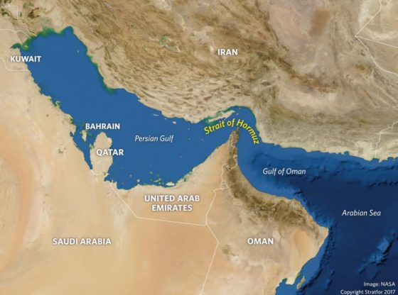 THE HORMUZ STRAIT DAMAGES